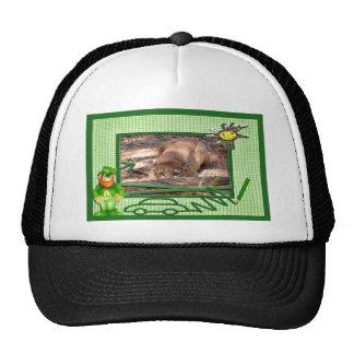 cougar-st-patricks-0010 trucker hat