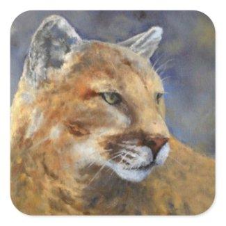 Cougar Sticker sticker