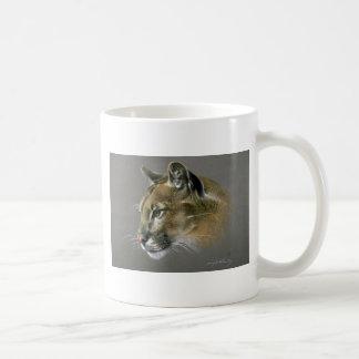 Cougar study coffee mug