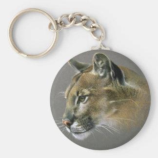 Cougar study keychain