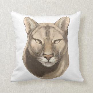 'Cougar' Throw Pillow
