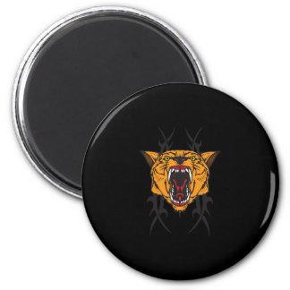 cougar tribal design magnet