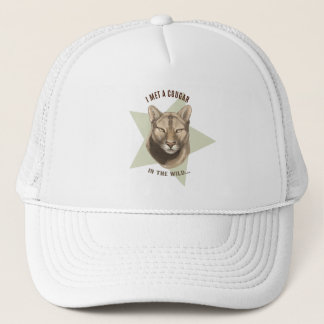 'Cougar' Trucker Hat