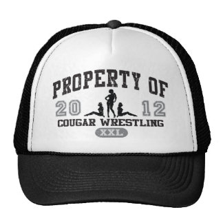 Cougar Wrestling Trucker Hats