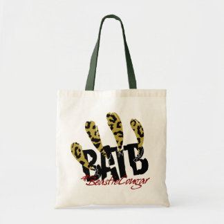 CougarBeastie tote Canvas Bag