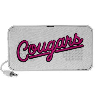 Cougars in magenta PC Speakers