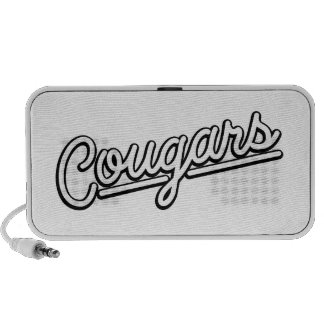 Cougars in white iPhone Speakers