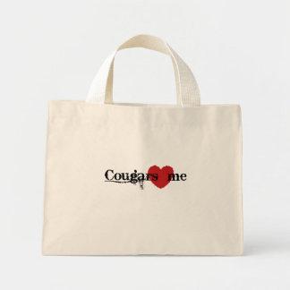 Cougars Love Me Mini Tote Bag