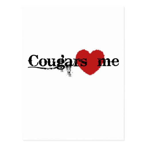 Cougars Love Me Postcards
