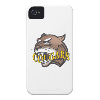 COUGARS MASCOT Case-Mate iPhone 4 CASES