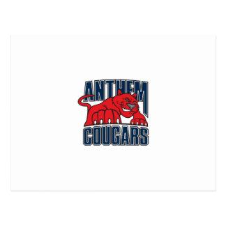 Cougars Postcard