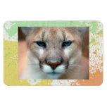 Cougars Rectangular Magnet