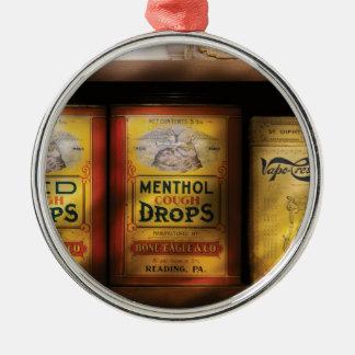 Cough Drops Metal Ornament