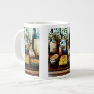 Cough Remedies and Tooth Powder Giant Coffee Mug