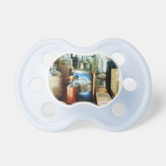 Cough Remedies and Tooth Powder Pacifiers