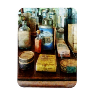 Cough Remedies and Tooth Powder Rectangle Magnets