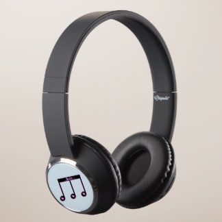 Coughs up DJ-Style notes of music heart Headphones