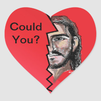 Could You? Christian Sticker