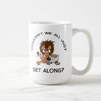 Couldn't We All Just Get Along? Mug