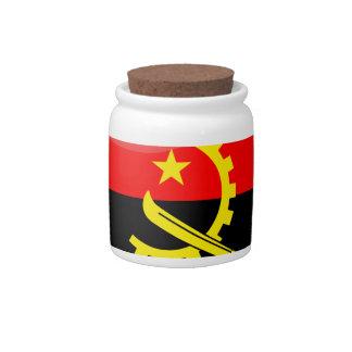 Couleurs de l'Angola Jarra Para Caramelo