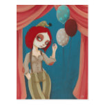 Coulrophobia - Bad clown postcard
