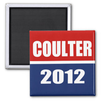 COULTER 2012 2 INCH SQUARE MAGNET