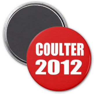 COULTER 2012 3 INCH ROUND MAGNET