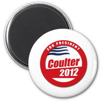 Coulter 2012 button 2 inch round magnet