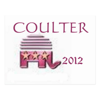 Coulter 2012 postcard