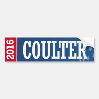 COULTER 2016 BUMPER STICKER