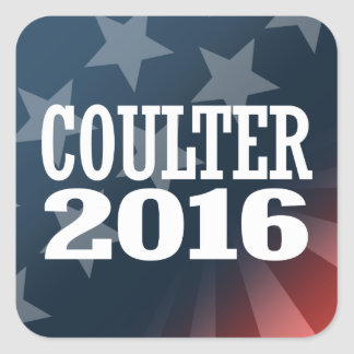 COULTER 2016 SQUARE STICKER