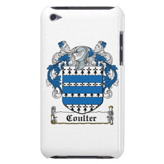 Coulter Family Crest Barely There iPod Covers
