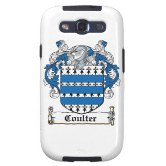 Coulter Family Crest Galaxy S3 Cover