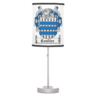 Coulter Family Crest Lamp