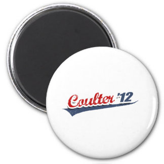 Coulter Team 2 Inch Round Magnet