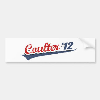 Coulter Team Bumper Stickers