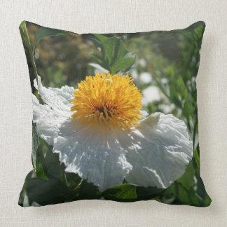 Coulter's Matilija Poppy Throw Pillow