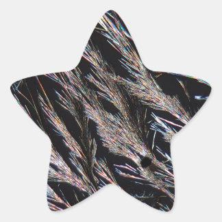 Coumarin under the Microscope Star Sticker