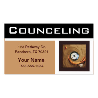 Councelor business cards
