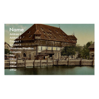 Council Building, Constance (i.e. Konstanz), Baden Business Cards