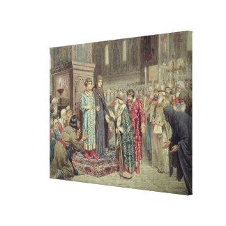 Council calling Michael F. Romanov  to the Canvas Print