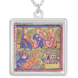 Council of Acre and  Damascus Silver Plated Necklace