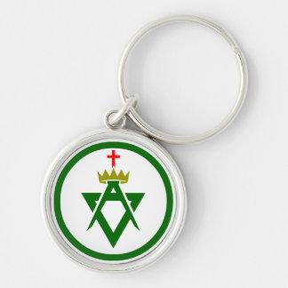 Council of Allied Masonic Degrees plain Keychain