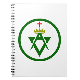 Council of Allied Masonic Degrees plain Notebook