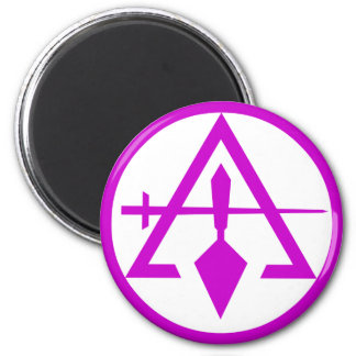 Council of Cryptic Masons 2 Inch Round Magnet