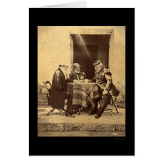 Council of War 1855 Greeting Card