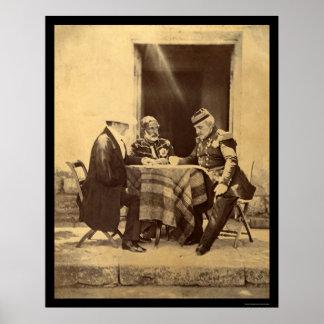 Council of War 1855 Poster
