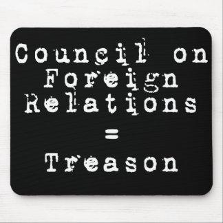 Council on Foreign Relations = traición Alfombrilla De Ratones