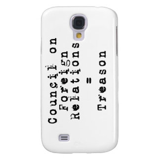 Council on Foreign Relations Treason Galaxy S4 Cases