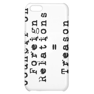 Council on Foreign Relations = Treason Cover For iPhone 5C